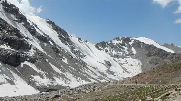 на фото: Перевал Тосор, 3893 м
