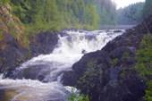 Водопад в июле