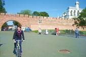 На выходе из Кремля