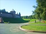 Крепостной ров и Кремлевские стены