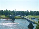 Пешеходный (горбатый) мост