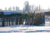 Орша, деревенский забор