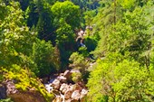 Река Гега, на пути к Гегскому водопаду