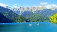 По дороге на озеро Рица