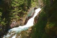 Водопад на Текелюшке