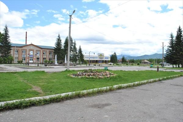 Центр Усть-Коксы
