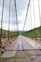 Новый мост к п. Мульта через Катунь