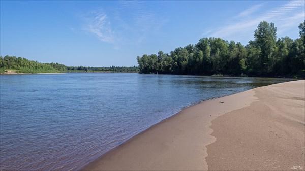 Песчаные пляжи Чулыма