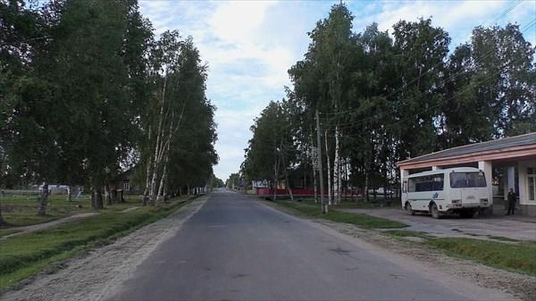 Автовокзал в Тегульдете