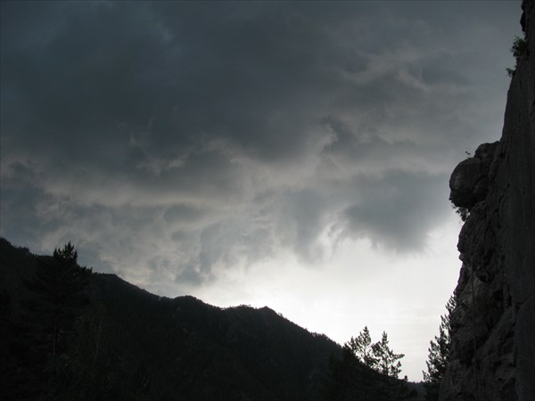 Грозное небо Алтая