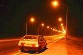 Световой `туннель` от Темиртау до Караганды