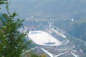 Фото 18. Стадион Медео. Вид с высоты 842 ступенек.