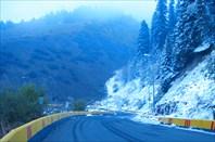 """Фото 23. Дорога на Чимбулак. Эта дорога - не для """"Жигулей"""""""