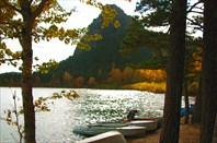 Фото 42. Озеро в золотой оправе