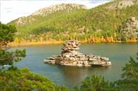 """Фото 43. Каменный """"корабль"""" на озере Боровое"""