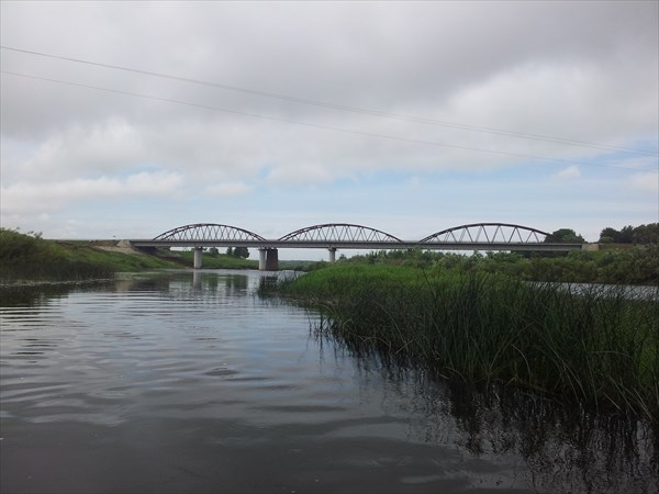 Мост у д.Колыхманово. Старт.