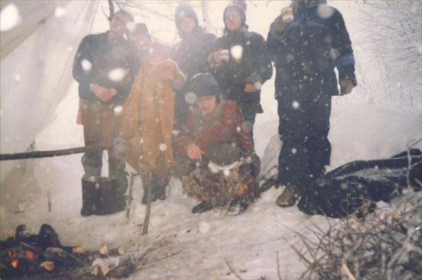 12. 01.02.1997. Второй день заброски.