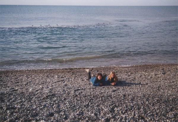 41. На пляже. 09.02.1997