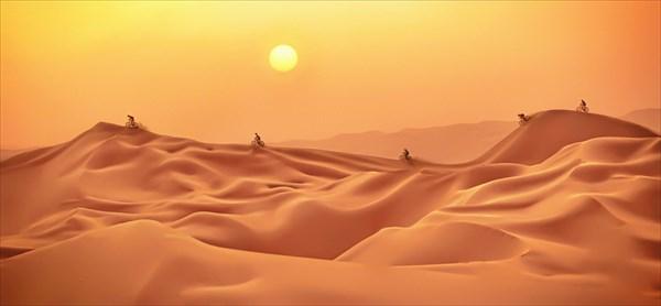 Высоченные дюны