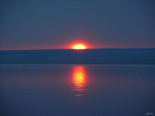 Закат над Леной
