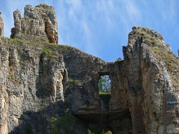 Фрагмент крепостной стены