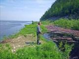 Ловля рыбы в притоке Лены