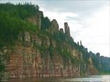 Правый берег р. Лена