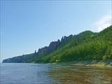 Общий вид участка берега