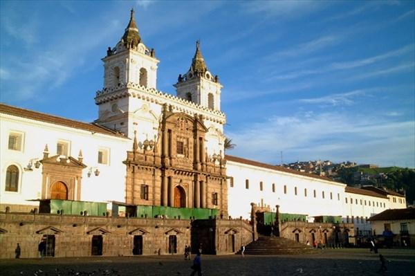 Ecuador-travel-photo-san-francisco-church-quito