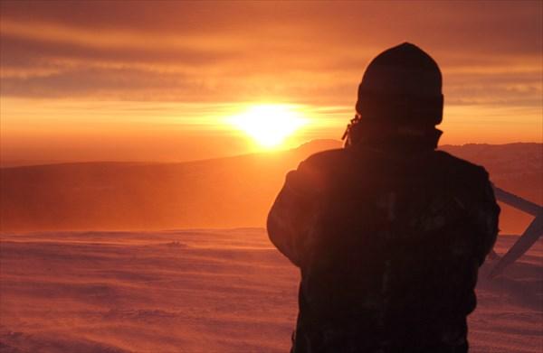 Гора Дальний Таганай. Восход