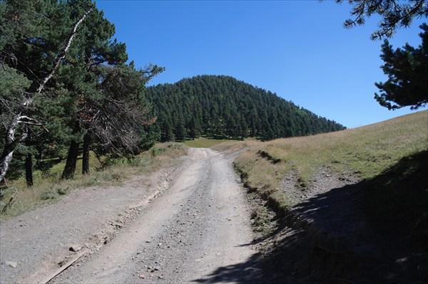 Перевал через Алазанский хребет
