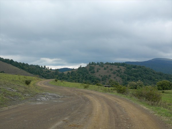 Дорога на пер. Саухбулак