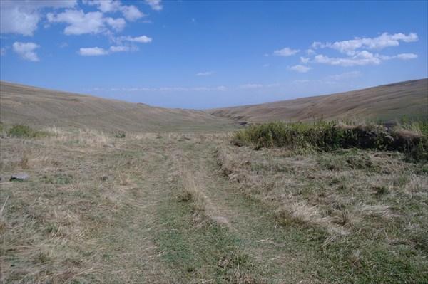 Дорога на перевал Спитаксар
