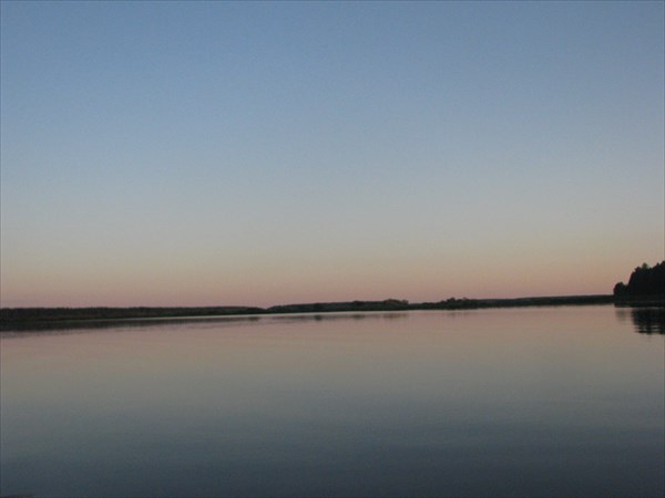 Закат на оз.Сокорево
