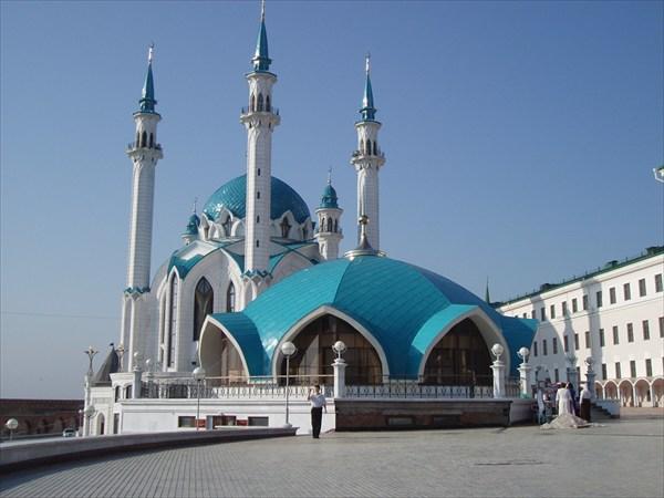 А вот и сама Казань