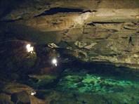 Кунгурская пещера. Подземное озеро