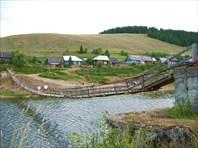 Мост в поселке