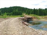 Мост на р.Усть-Тырым