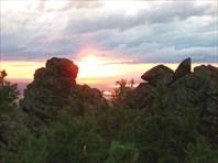 Закат с горы