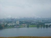 Вид на город с Лисьей горы
