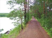 Плотина на Верхнем озере