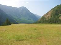 Футбольное поле на тропе Тюнгур-Иня