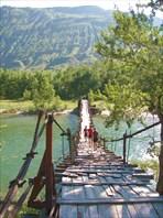 Мостик через Чулышман
