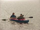 Пробная рыбалка...