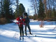 Лыжный поход по Теректинскому хребту.. (c) Елена Барышникова