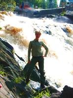 Водопады Карелии (Мраморный Карьер)