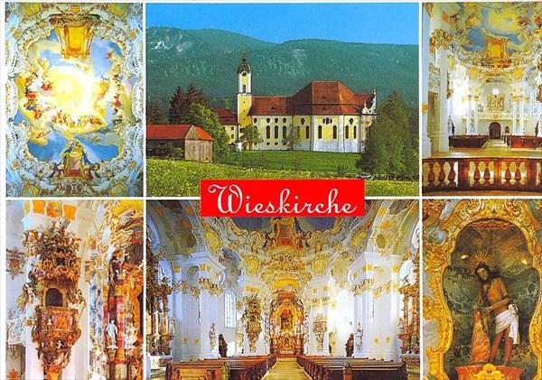 054-Wieskirche-открытка