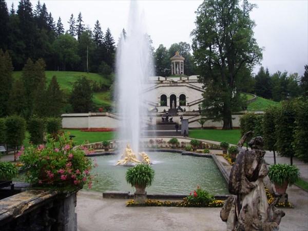 082-Линдерхоф-фонтан