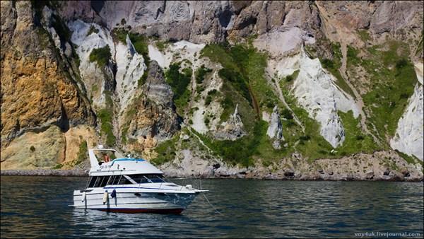 Морская рыбалка в бухте Гротовой