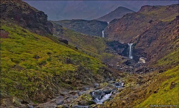 Водопады на Толбачике